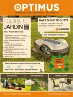 OFERTA OPTIMUS JARDIN